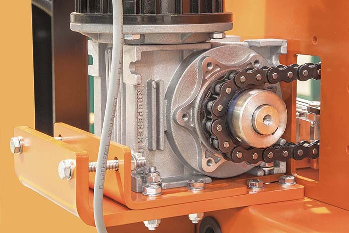 Inne rodzaje Motoreduktory - Przekładnie ślimakowe (kątowe) MR - Producent KACPEREK CY19